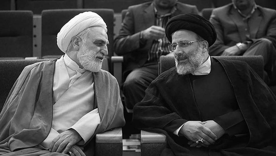 Ebrahim Raisi and Mohseni – Eje'i