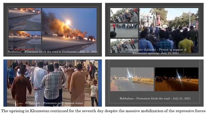 The uprising in Khuzestan